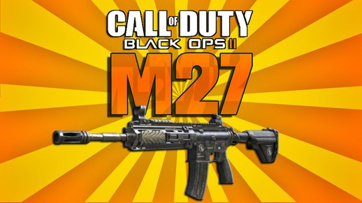 Black Ops 2 M27 Sounds