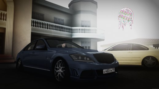 Mercedes-Benz W221 S65 RUS Stance Ver. 2