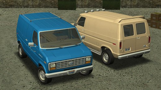 Ford E-150 Commercial Van 1982 2.0