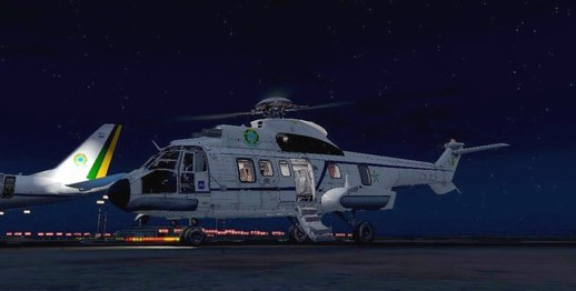 VH-34 Super Puma FAB President [Replace]