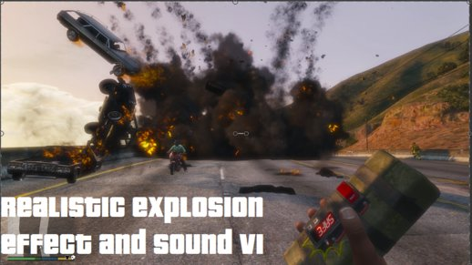 Realistic Explosion Effect And Sound VI