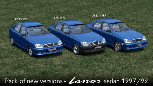 Pack Of New Versions - Daewoo Lanos Sedan