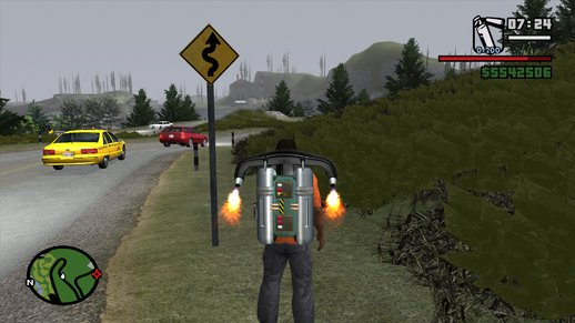 HD Road Warnings Mod