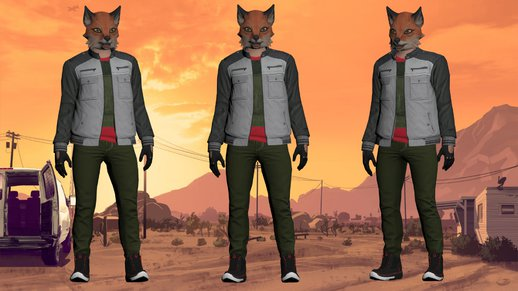 GTA Online Random Skin (normal Map)