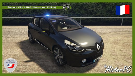 Renault Clio 4 BAC (Unmarked Police)