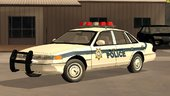 1997 Ford Crown Victoria El Quebrados Police