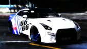 Nissan Gtr35 Libertywalk (Replace / Addon / template )