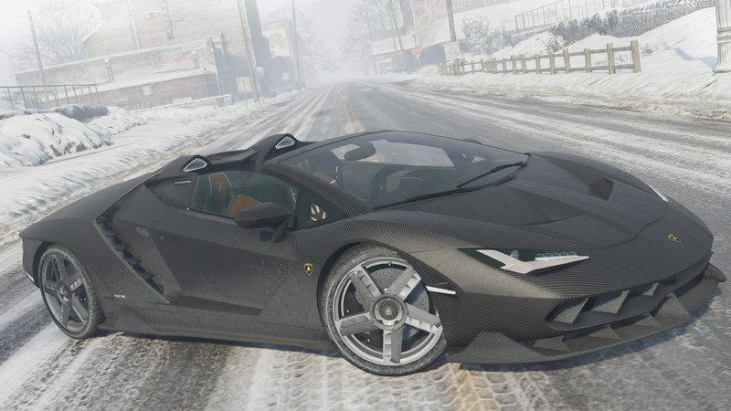 Gta 5 2017 Lamborghini Centenario Lp 770 4 Roadster Mod Gtainside Com