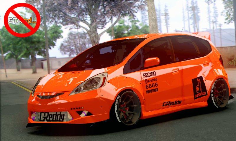 GTA San Andreas 2009 Honda Fit Rocket Bunny Mod ...