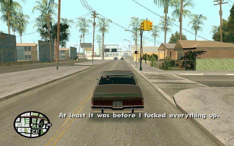 GTA San Andreas LS GTA IV Roads Texture Mod - GTAinside com