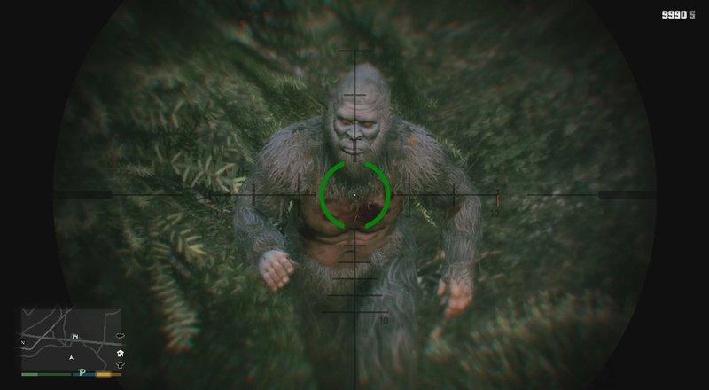 Gta 5 The Real Bigfoot Mod Gtainside Com