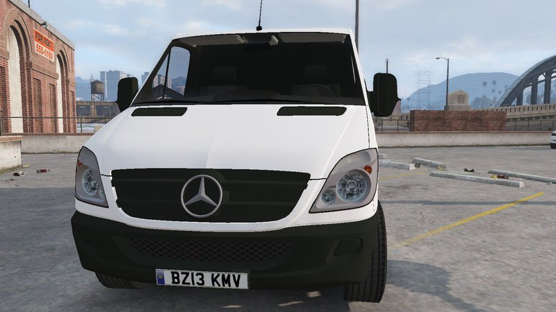 Gta 5 Mercedes Benz Sprinter Low Roof Mod Gtainside Com
