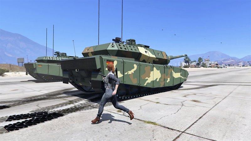 4c071df5873e GTA 5 Leopard 2A7+ MBT  Add-On   Replace