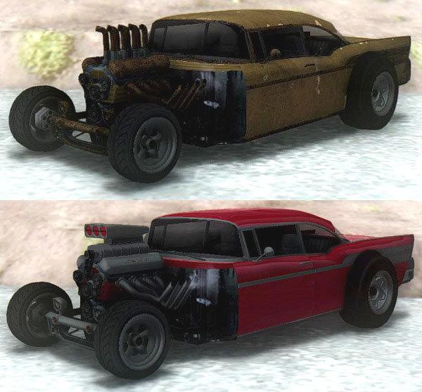 GTA San Andreas GTA V Declasse Tornado Rat Rod & Cleaner Mod
