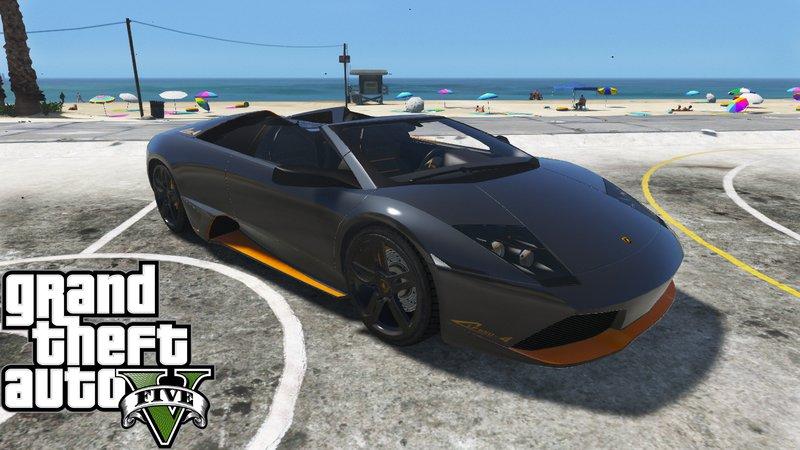 Gta 5 Lamborghini Murcielago Lp650 4 Roadster Add On Mod