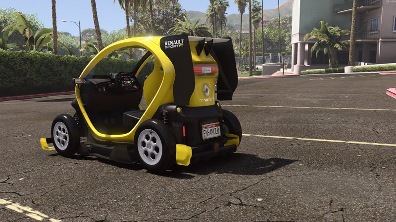 Gta Renault Twizy Add On Tuning Hq Mod Gtainside Com