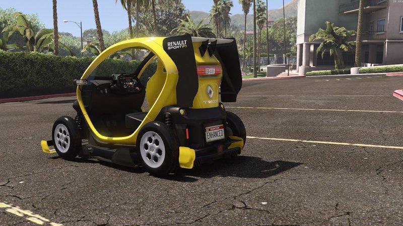 Gta Renault Twizy Add On Tuning Hq Mod Gtainside Com