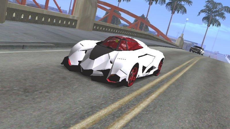 Gta San Andreas Lamborghini Egoista Concept Dff Only For Android Mod
