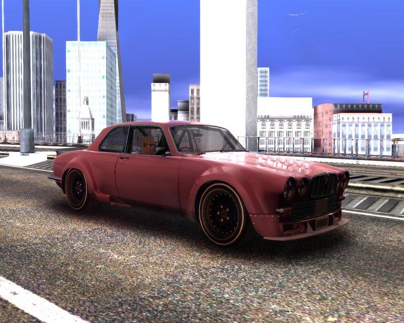 GTA San Andreas Jaguar Broadspeed XJC Mod - GTAinside com