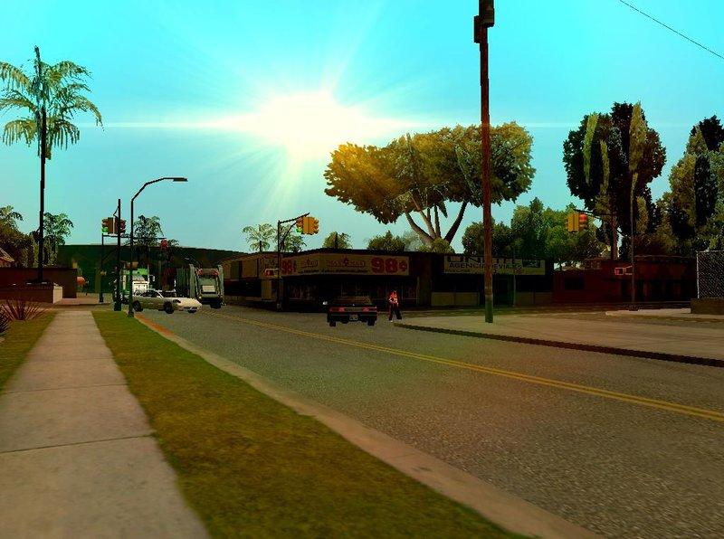 GTA San Andreas Better Traffic Density Mod - GTAinside com