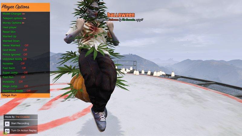 GTA 5 Halloween Mod Menu (Open Source) Mod - GTAinside com