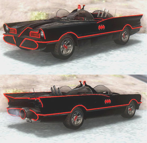 GTA V Vapid Peyote Batmobile 66