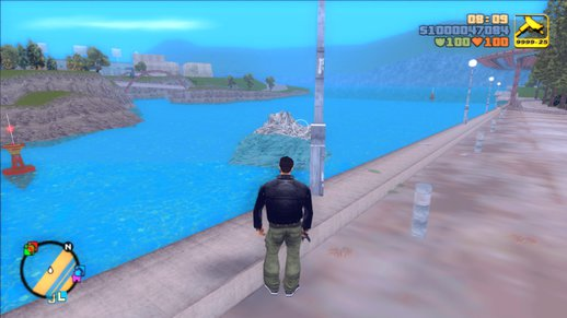 GTA 3 Visible Water