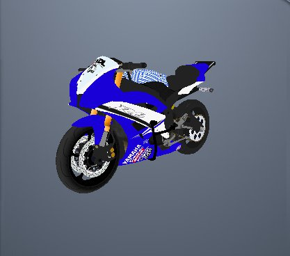 YZF-R6 Stunt From GTA Stunt City Ultimate
