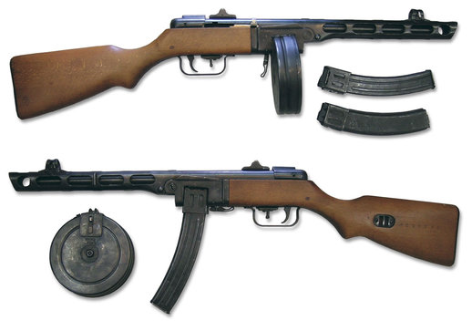 PPSH-41 Submachine Gun Sounds