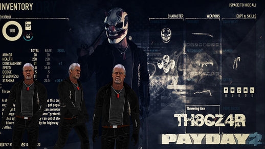 "The ""Biker"" Payday 2"