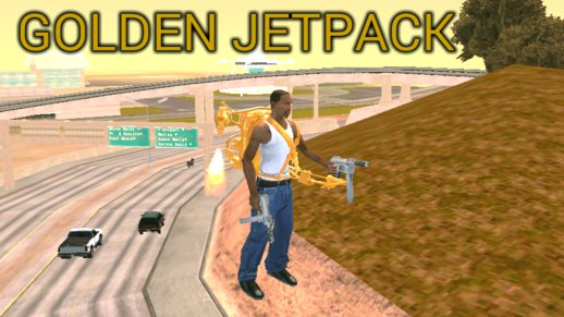 Golden Jetpack (dff Only) For Android