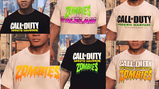 Call of Duty - Infinite Warfare/Modern Warfare Shirts