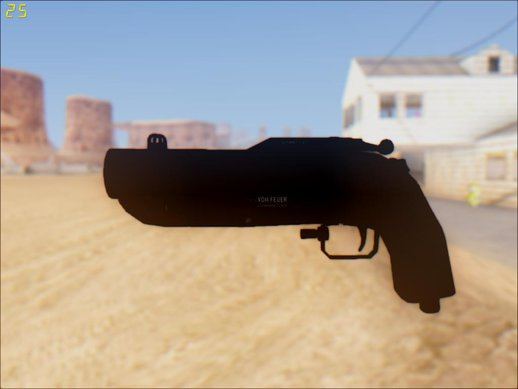 GTA V Vom Feuer Compact Grenade Launcher