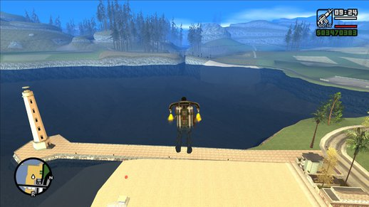 GTA 3 Water For San Andreas