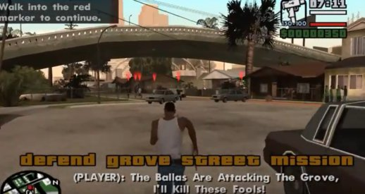 Grove Street Gang Season 1 - 5 Missions Pack