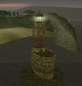 Abandoned Lighthouse And Caretaker Darkel