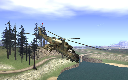 Mil-Mi 24D Hind from COD Series