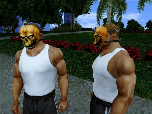 Halloween Mask's From Payday The Heist v1.0