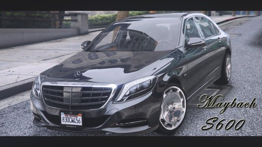 Maybach S600 2016 [Replace]