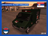 Zastava Rival Military Ambulance