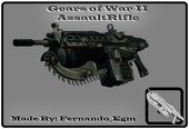 Mark 2 Lancer Assault Rifle From Gears Of War II