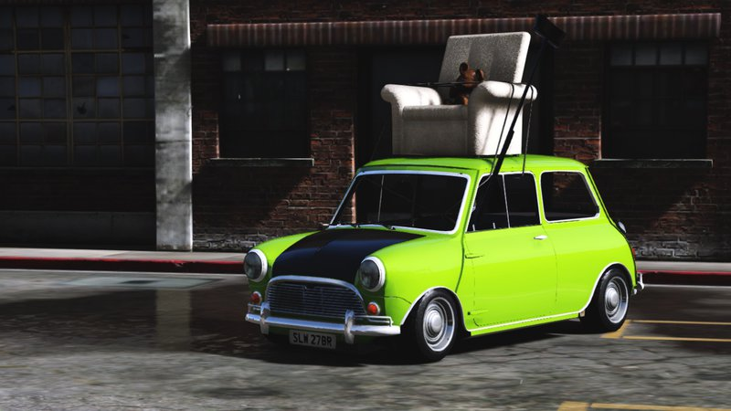 Gta 5 Mr Bean Mini Cooper Mod Gtainside Com