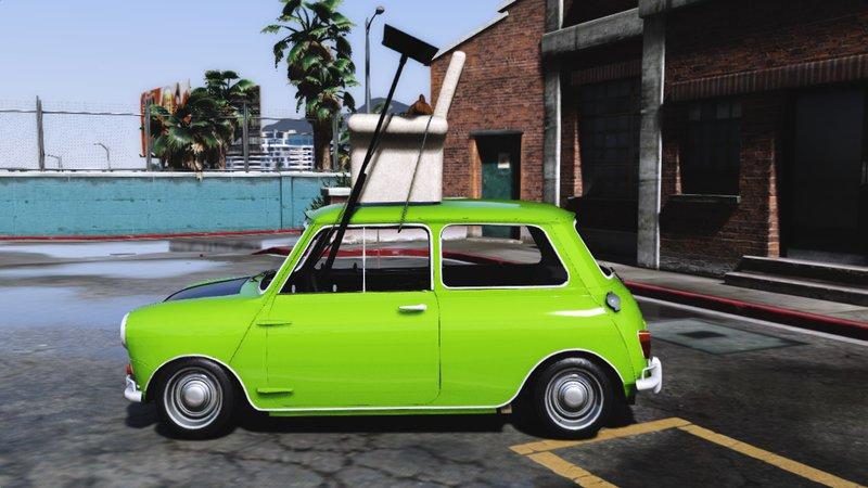 Gta 5 Mr Bean Mini Cooper Mod Gtainside Com