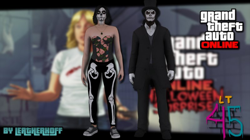 GTA San Andreas Halloween Surprise DLC Skin Pack Mod - GTAinside.com