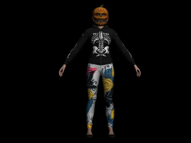GTA San Andreas GTA V Halloween Skin-Pack Mod - GTAinside.com
