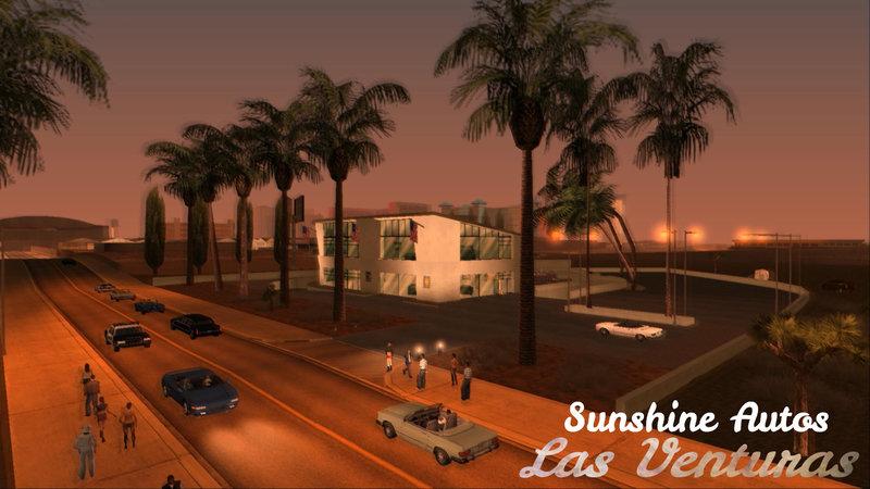 GTA San Andreas Sunshine Autos in Las Venturas Mod