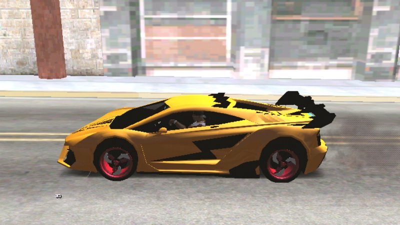 GTA San Andreas GTA V Pegassi Lampo Dff Only For Android Mod