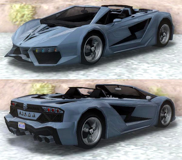 Supercars Gallery: Pegassi Zentorno Roadster