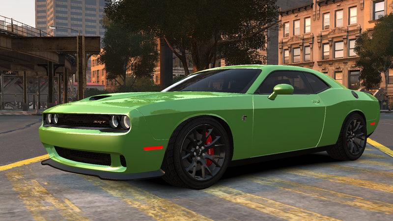 Gta 4 2015 Dodge Challenger Srt Hellcat V1 1 Mod Gtainside Com