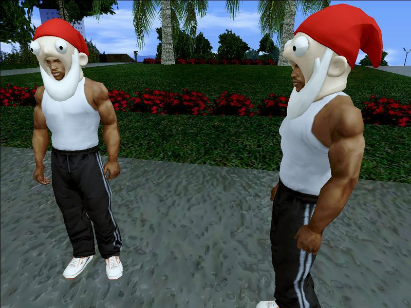 All Gta Christmas Masks.Gta San Andreas Gnome Mask From The Sims 3 Mod Gtainside Com